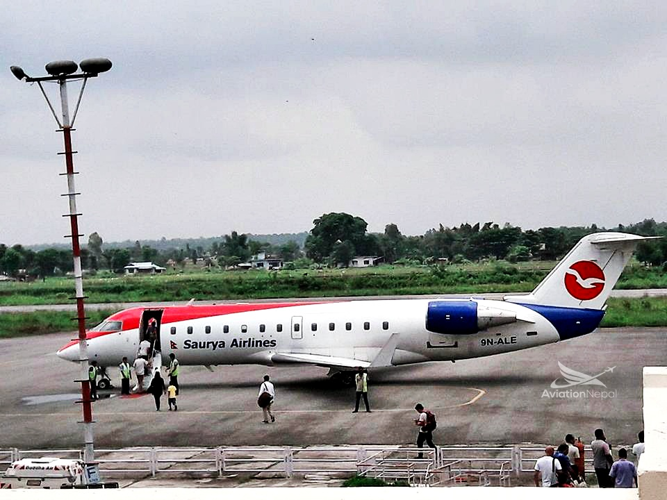 Saurya's Jet - aviationnepal