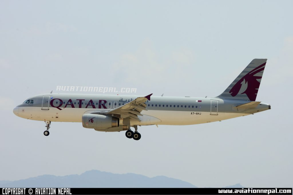Qatar Airlines Airbus-aviationnepal