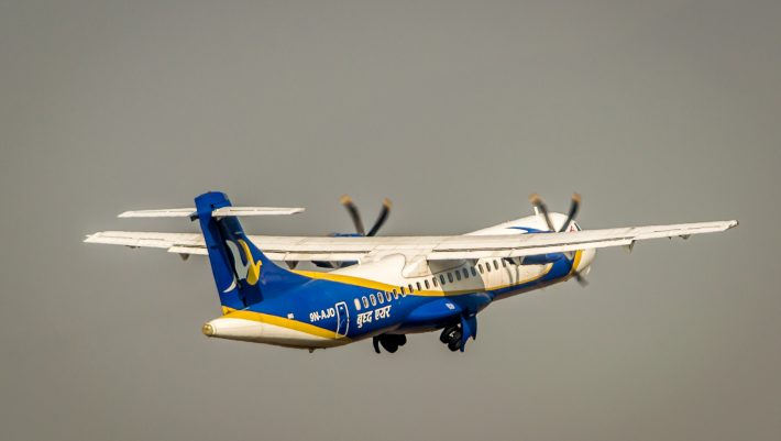 Buddha air Nepalgunj Delhi direct flight Image Roshan Buddha Air