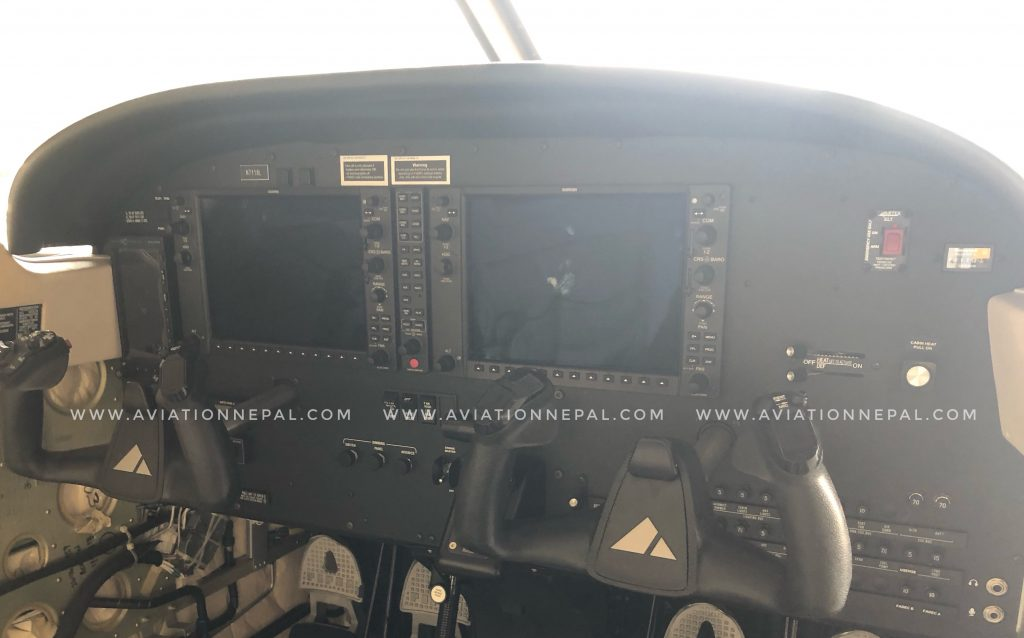 Nepal Army Piper Archer Garmin G1000 Cockpit - Aviation Nepal