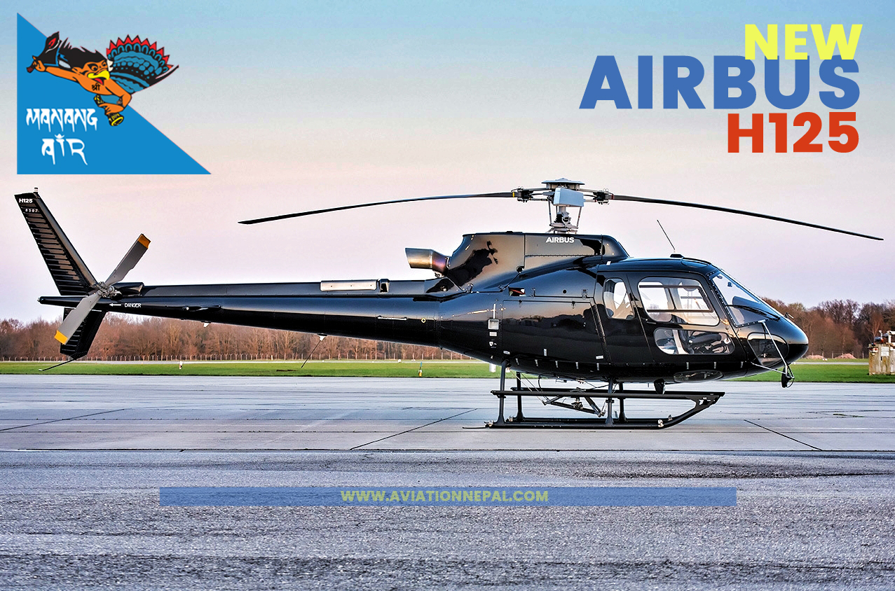 Manang air new H125 - Aviation Nepal