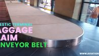 TIA domestic baggage claim belt - Aviation Nepal