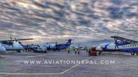 Congestion At TIA Domestic Parking Bay - Aviation Nepal