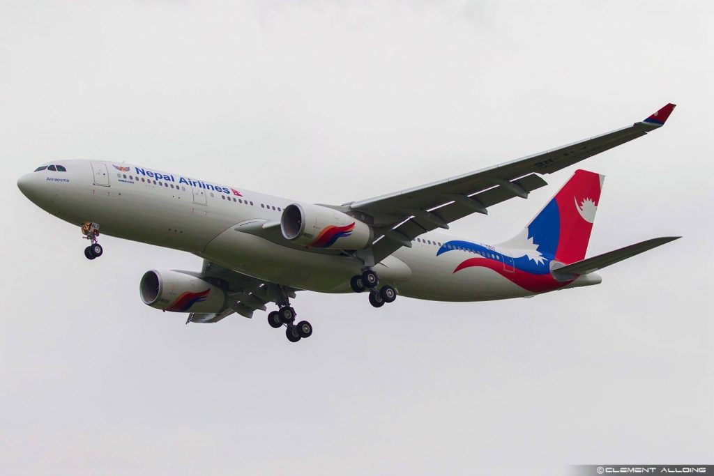 Nepal Airlines A330