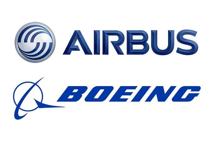 Boeing Logo And Airbus Logo Vivid History With Details